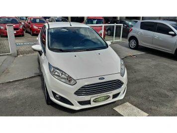 Foto numero 0 do veiculo Ford New Fiesta Hatch TITANIUM POWERSHIFT - Branca - 2015/2016